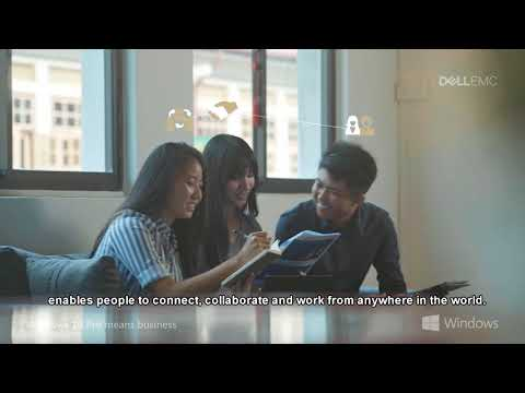 Dell for Business Asia - Collaboration in the Workplace Today
