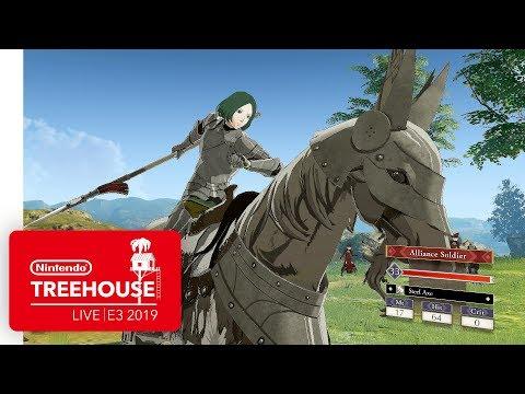 Fire Emblem: Three Houses Gameplay - Nintendo Treehouse: Live   E3 2019 thumbnail
