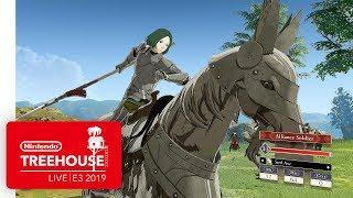 Fire Emblem: Three Houses Gameplay - Nintendo Treehouse: Live | E3 2019