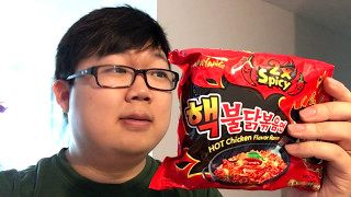 Let's Eat 2X SPICY Korean Buldak Bokkeum Myun Ramen