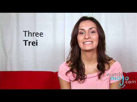 How to Say in Romanian Three