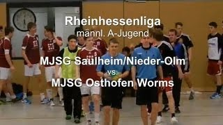 preview picture of video 'MJSG Saulheim/Nieder-Olm vs. MJSG Osthofen Worms 28:26'