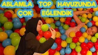 TOP HAVUZU nda ablamla çok eğlendik , harikaydı :)) | Fenomen Tv