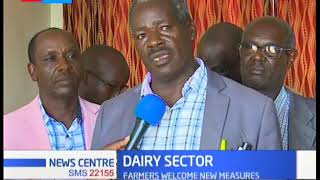 Eldoret farmers express their joy after gov't ordered KCC to pay farmers sh33 per litre of milk