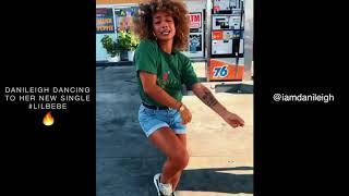 DaniLeigh Dancing To Her New Single #LilBebe, LIT!😍🔥
