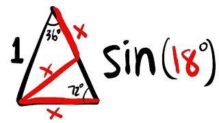 Sin(18º), Special Special Right Triangle!