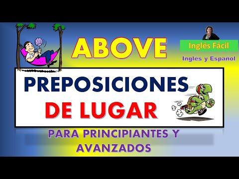 PREPOSICIONES DE LUGAR - CUÁLES SON Y CÓMO SE USAN - EN INGLÉS Y ESPAÑOL - INGLÉS FÁCIL