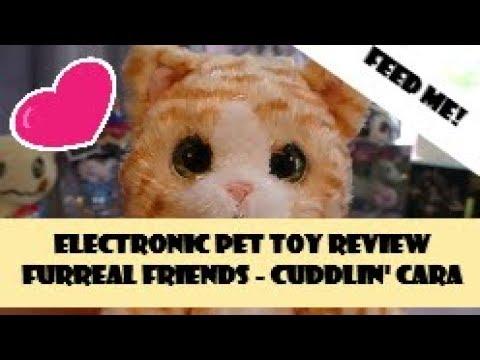 Furreal Friends - Cuddlin' Cara - Electronic Pet Toy Review #Furreal #ElectronicPets #ToyReview