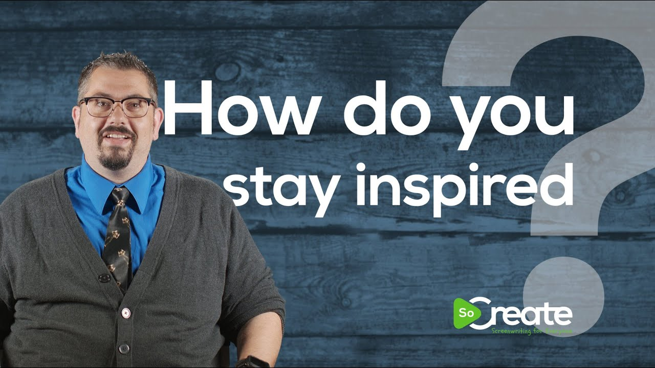 Screenwriter Bryan Young Tells Screenwriters How to Stay Inspired