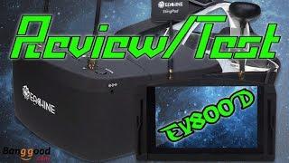 Eachine EV800D Diversity FPV Brille Test/Review   HD+   Deutsch