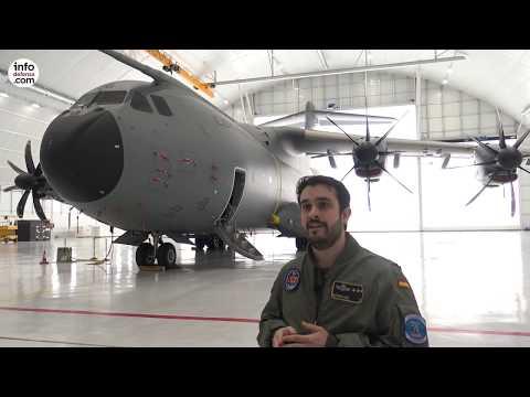 Conoce el nuevo avión de transporte del Ejército del Aire español
