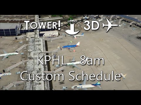 Tower!3D Pro - EDDM - Custom Schedule - 10AM - смотреть