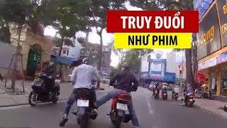 Cảnh sát hình sự rượt đuổi trộm xe như phim hành động giữa Sài Gòn