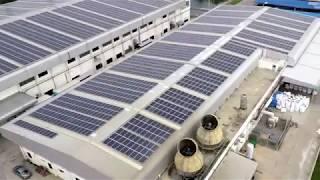 YEO SOLAR Endüstriyel Çatıları Sürdürülebilir Enerji santraline dönüştürüyor.