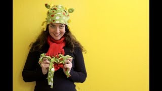 Making Fleece Hats And Scarves On ABC 10s Sac & Co | Sophies World