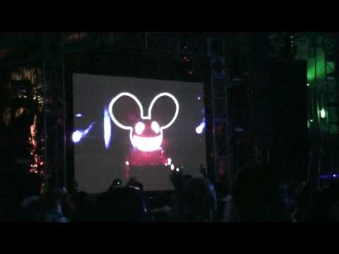 deadmau5-Strobe/I Said Live(Michael Woods remix)@Coachella 2010