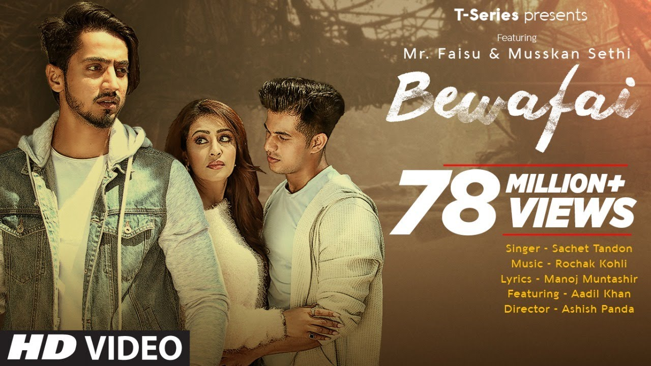 Bewafai-lyrics - sachet-tandon