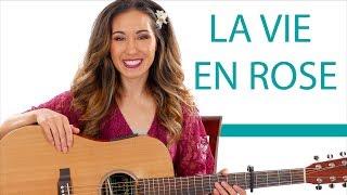 La Vie En Rose - Guitar Tutorial and Play Along