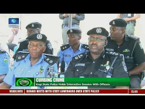 Kogi Police Holds Interactive Session With Officers