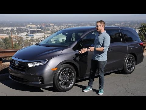 2021 Honda Odyssey Test Drive Video Review