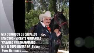 MIX VICENTE FERNANDEZ CORRIDOS DE CABALLOS