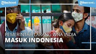 Resmi! Pemerintah Larang WNA India Masuk Indonesia Mulai 25 April 2021