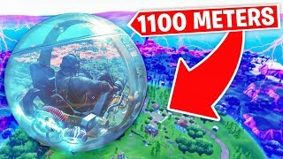 Going to *MAX HEIGHT* In Hamster Balls!
