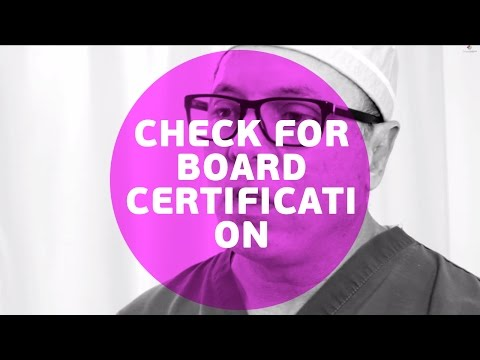 Why is ABMS.org the only organization that you can check for board certification?