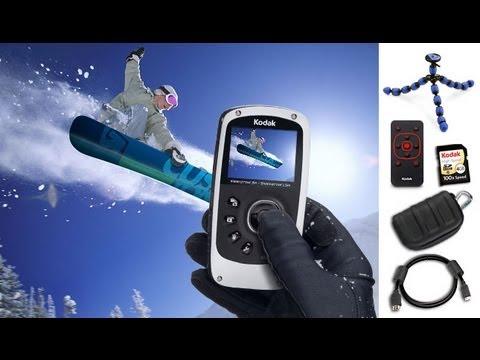 Camcorder Test Kodak zX5 Unterwasser Action Kamera