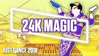 "Just Dance 2018 Demo | ""24K Magic   Bruno Mars"" Gameplay (Xbox One 2017)"