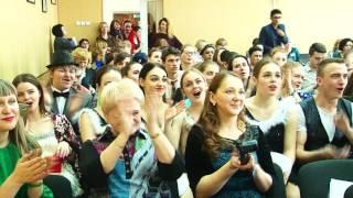 Зрителям студенческого конкурса пришлось плакать от смеха