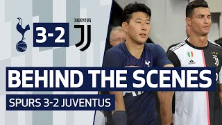 BEHIND THE SCENES | SPURS 3-2 JUVENTUS