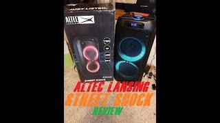 Altec Lansing- Street Shock (AL500) Bluetooth Speaker Review. A JBL Partybox 200/300 Killer?