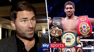 'Joshua has received a HUGE site offer to fight Wilder or Fury' | Eddie Hearn on AJ & Usyk/Chisora