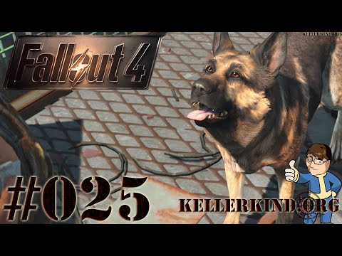 Fallout 4 [HD|60FPS] #025 - Auf Kelloggs Spuren ★ Let's Play Fallout 4