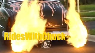 1952 Oldsmobile 88 Lead Sled. Voodoo Larry Takes Us For A Ride!
