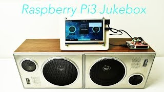Raspberry Pi 3 Touch Screen JukeBox Volume With JustBoom Amp Hat