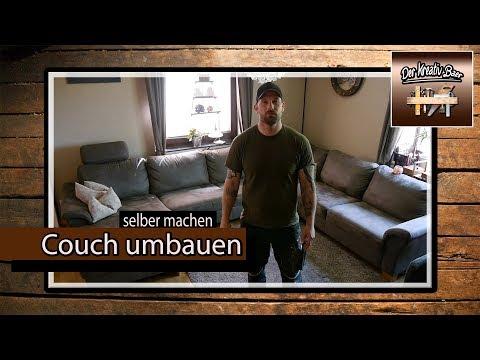✅ Seine Couch / Sofa umbauen | selber machen | selbst gemacht