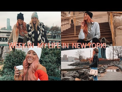 A WEEK IN MY LIFE IN NEW YORK!