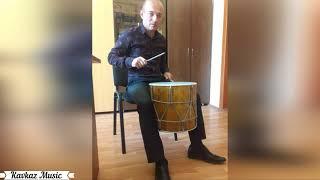 Агил на барабане Зажигательные кавказские танцы