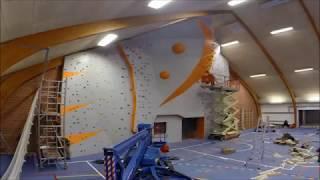 Høj klatrevæg, Egmont højskolen