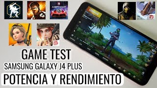Samsung Galaxy J4+ Plus (2018) GAME TEST IN 9 GAMES Android HD