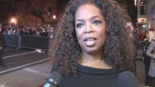 Oprah Winfrey Celebrates Winning Lifetime Achievement Award | Feb 2014