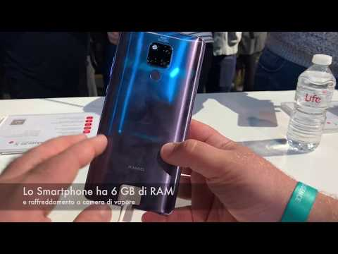 Huawei Mate 20 X, video Anteprima