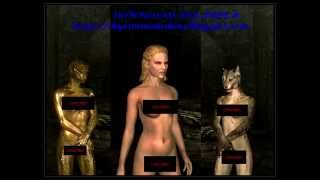 Skyrim Mods - Female Skins Download