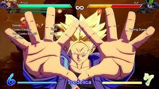 Isedelica DBFZ Trunks/Piccolo/Tien 100% Combo 即死コンボ