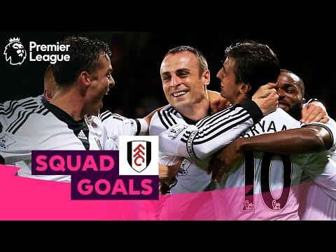 FANTASTIC Fulham Goals | Berbatov, Parker, Dempsey | Squad Goals