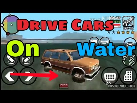 How To Drive Cars On Water In GTA SA Android || New Trick || 100% Works In All Devices || 2018.