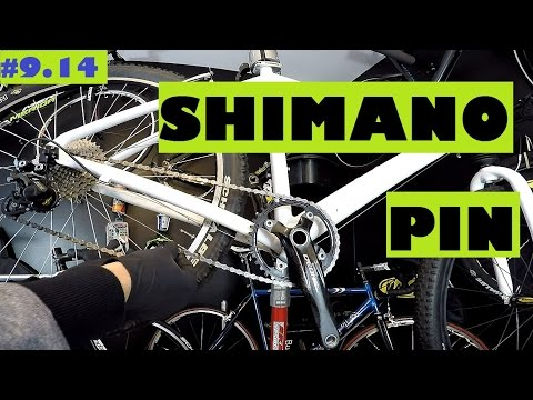 How to measure and install new chain. Replace a directional Shimano HG-X chain.