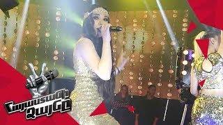 Anahit Hakobyan sings 'Sing it Back' - Knockout Gala Concert – The Voice of Armenia – Season 4